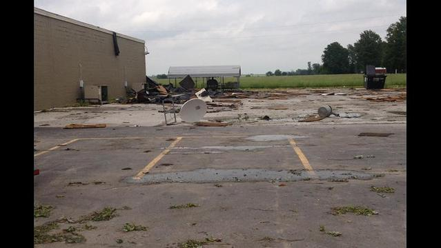 PHOTOS: Weather Service Confirms Small Tornado in Lockwood, Mo.