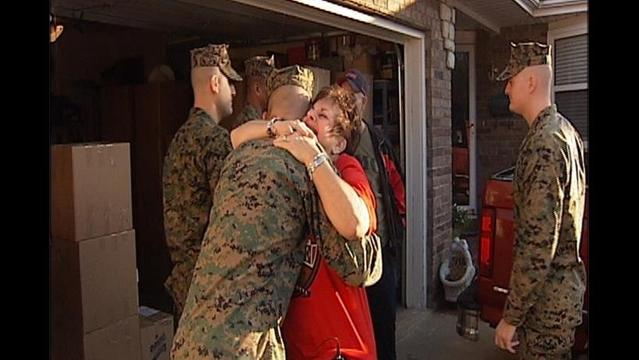 Operation Santa: A Hometown Hero's Mission for Marines