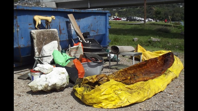 Saturday's Taneycomo Lake Cleanup was a Success