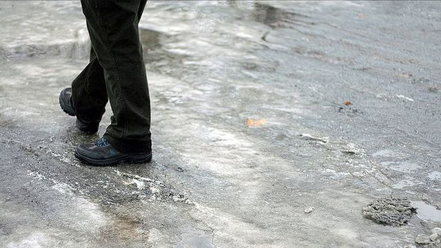 How to Walk on Icy Surfaces