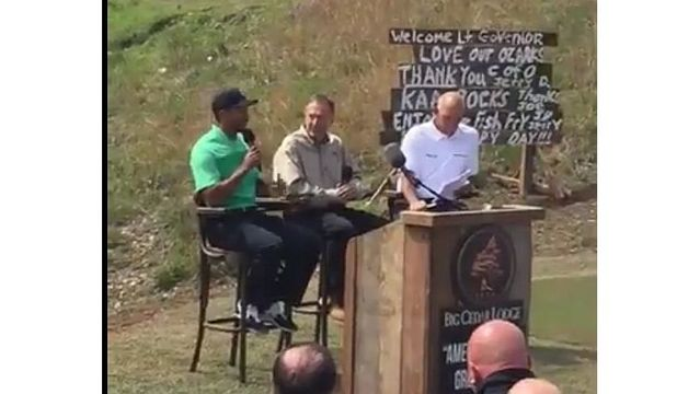 Tiger Woods announces public golf course near Branson
