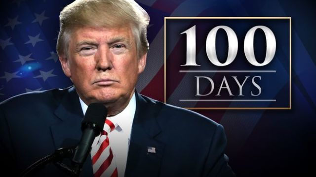 Trump to mark 100 days with Penn. rally
