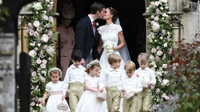 Pippa Middleton Marries Millionaire Financier James Matthews