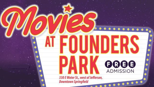 Free Movies at Founders Park Starts July 7