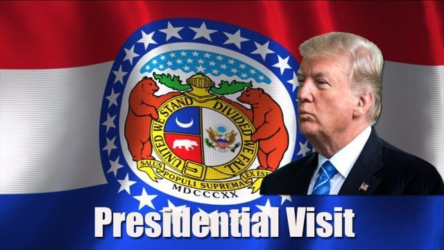 Details for President Trump's Missouri visit announced