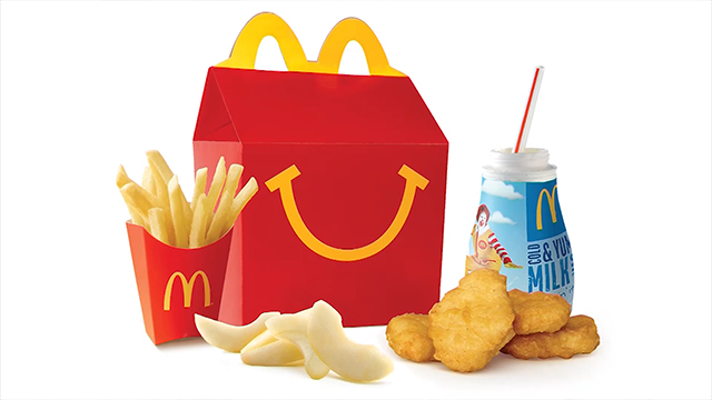 McDonald's to switch out Happy Meal apple juice