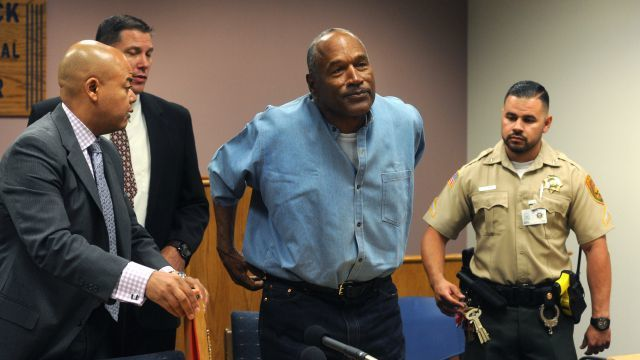 OJ Simpson freed from jail after spending nine years behind bars