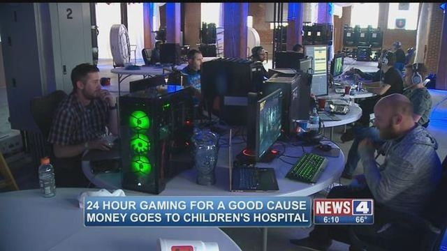 Gamers playing 24-hours straight to raise money for children's hospitals