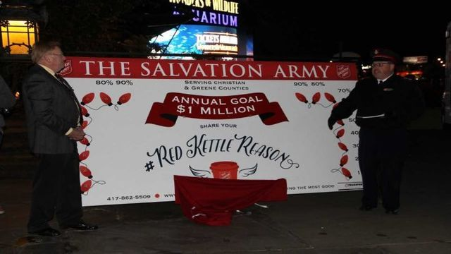 Salvation Army held annual Red Kettle campaign kick off