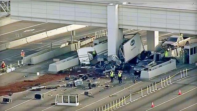 Person killed in Bay Bridge toll booth crash