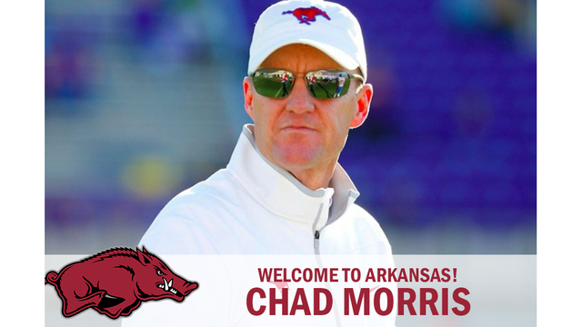 Arkansas Targeting SMU Coach Chad Morris