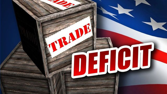 U.S. trade deficit swells to largest in almost five years