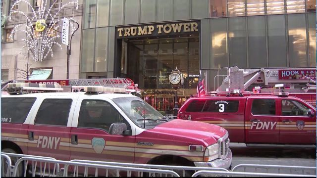 Small Fire Breaks Out at Trump Tower in NYC