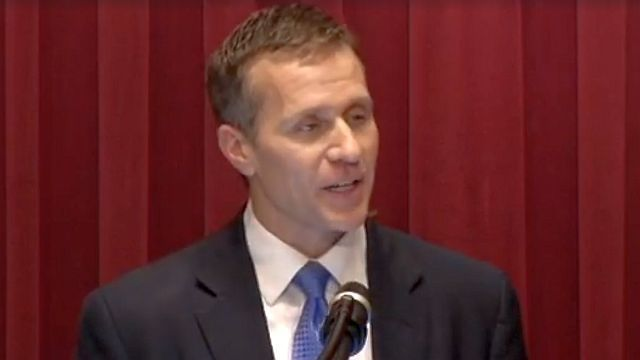 Missouri governor acknowledges affair; attorney refutes blackmail claims
