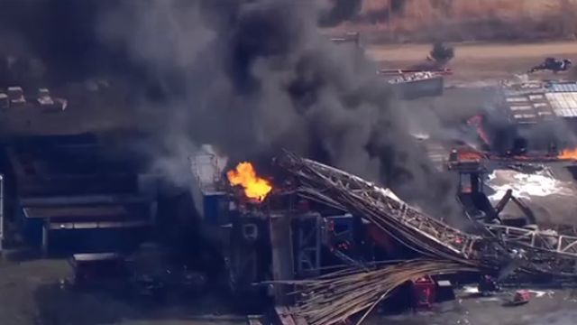 Five Missing After Well Explosion in Oklahoma