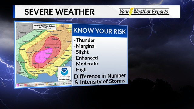 Severe Weather Preparedness Week begins across state