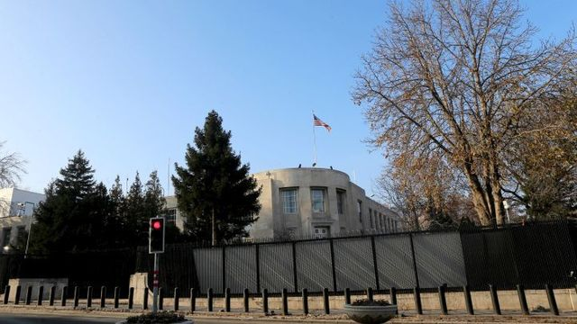 US Embassy in Ankara Closed over Security Threat