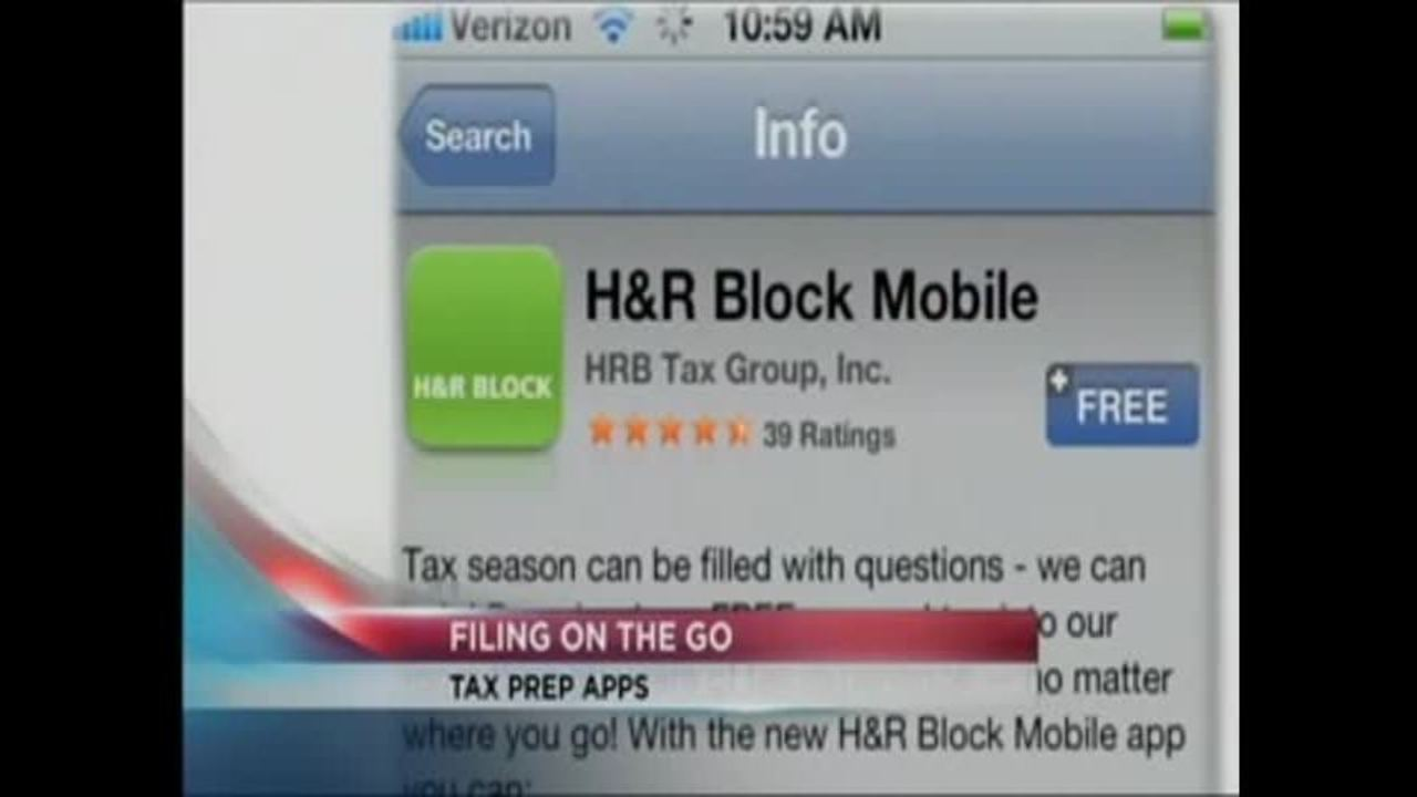 Apps Let You File Your Taxes with a Smartphone