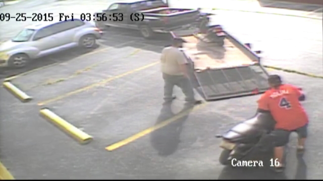 CAUGHT ON CAMERA: Video Catches Two Men Stealing Motorcycle in Broad ...