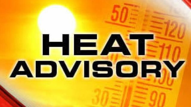 Pool Schedule Changes and Cooling Centers Available Due to Heat Advisory