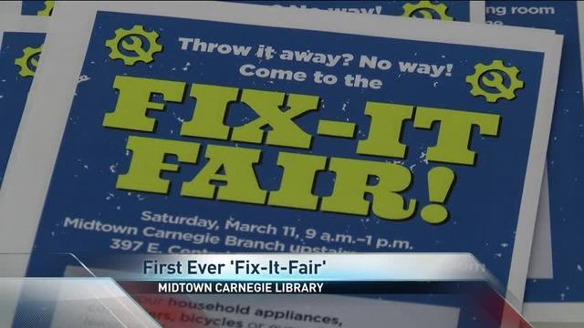 Springfield's 'Fix-It-Fair' Allowed Experts to Help Fix Household Items