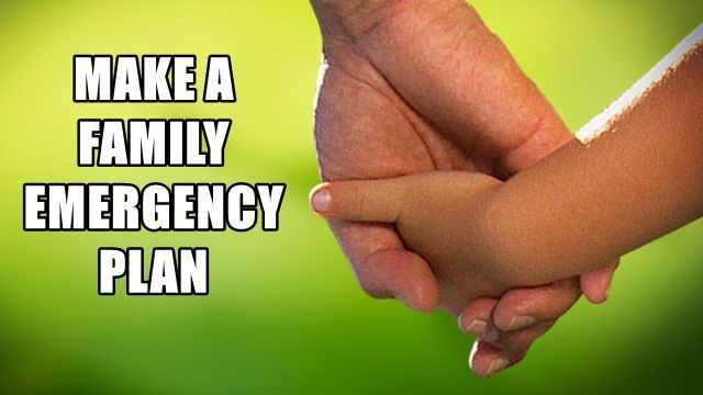 Make a Family Emergency Plan