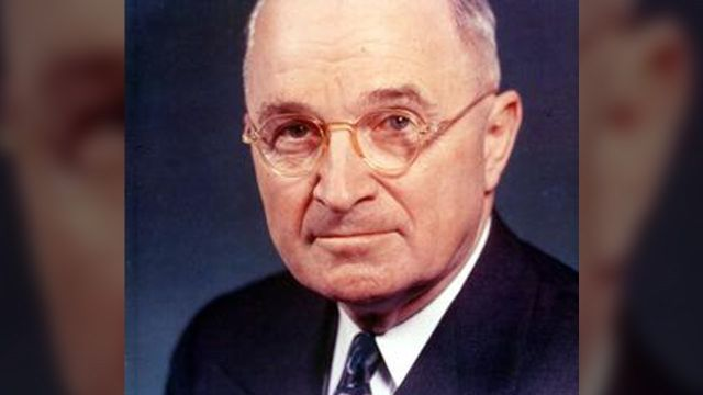 Monday is Truman Day -- State Holiday in Missouri