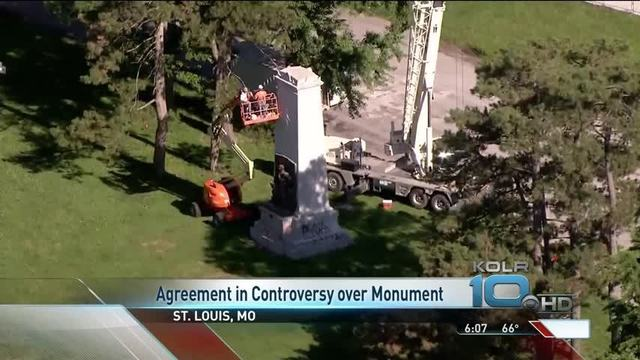 St Louis Confederate Monument Controversy Comes To Agreement