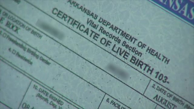 Judge Threatens to Shut Down AR Birth Certificate System - OZARKSFIRST
