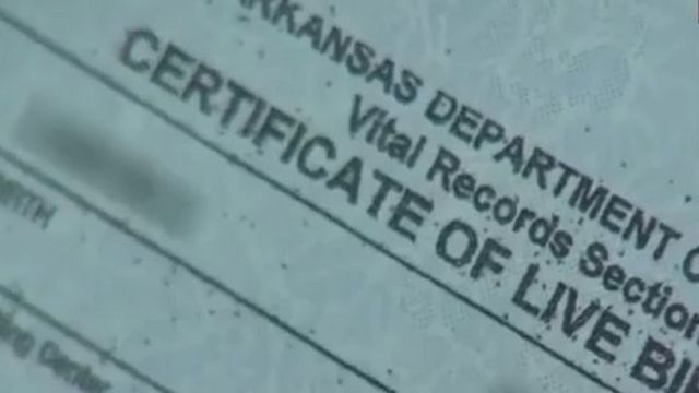 Arkansas Judge Halts Issuance of Birth Certificates, Governor Issues Directive