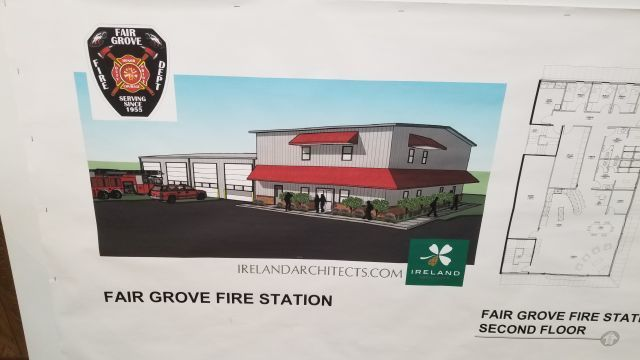 Ground Broken for New Fair Grove Fire Station