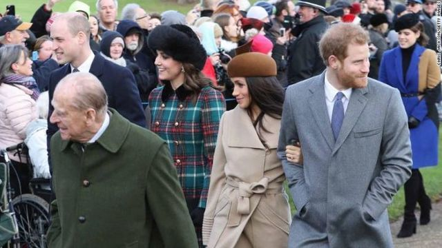 Meghan Markle and Prince Harry Join Royal Family at Sandringham
