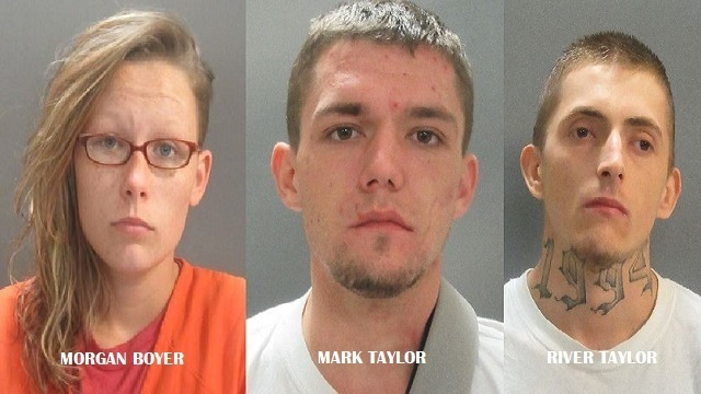 Three Charged in Christmas Kidnapping, Theft