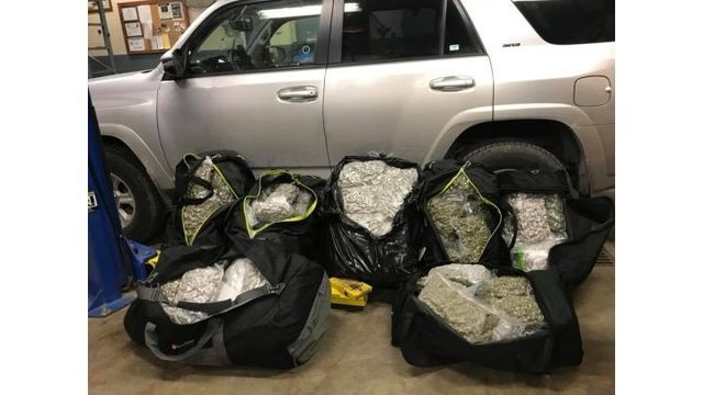 K-9 'Rocko' Finds 165 Pounds of Marijuana During Traffic Stop in Buchanan County