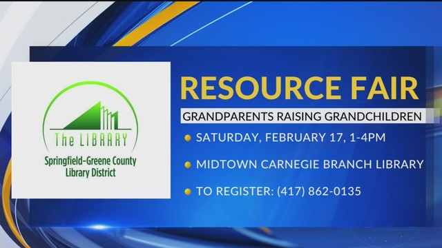 Library to Host Fair for Grandparents Raising Grandkids