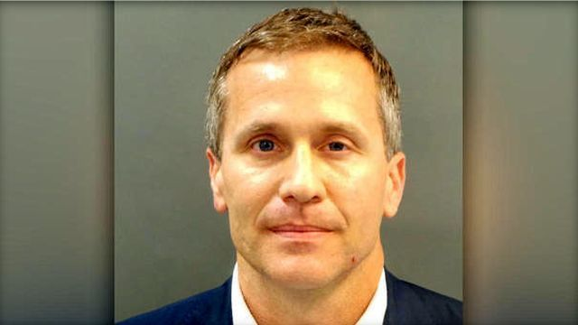 Missouri Gov. Eric Greitens Gives Statement Amid Scandal