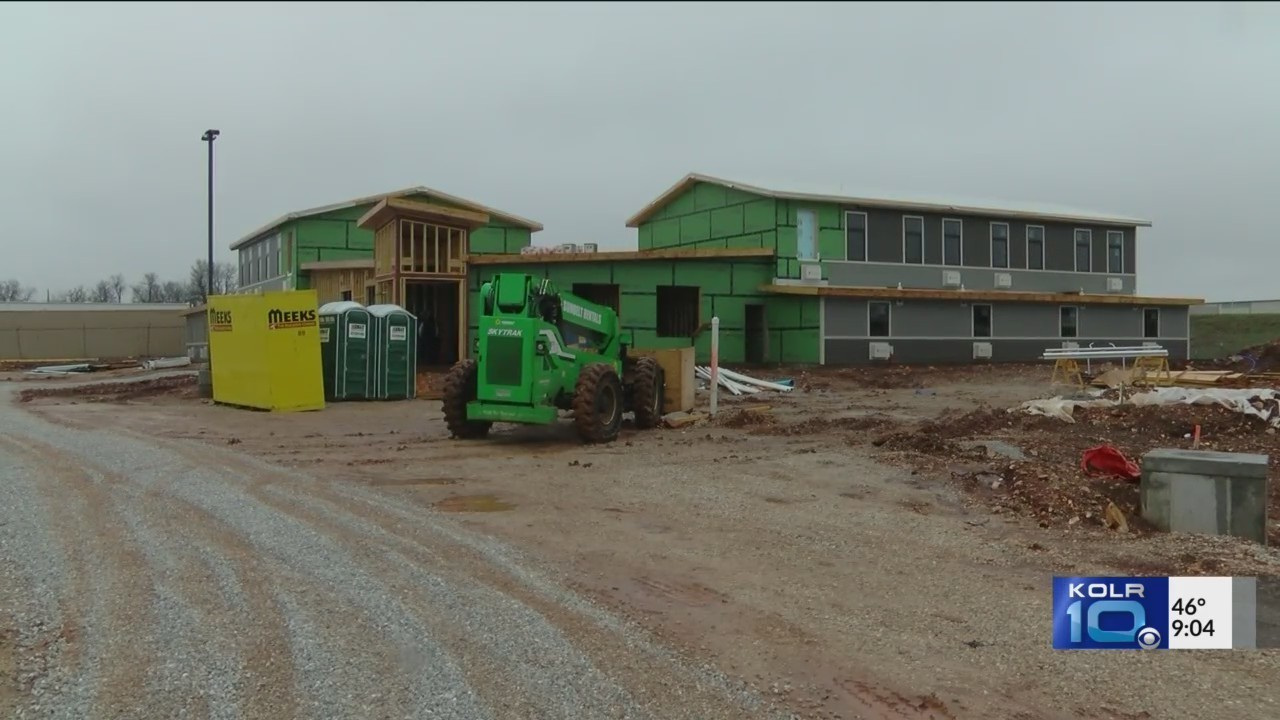 The Kitchen\'s New Homeless Shelter Close to Completion