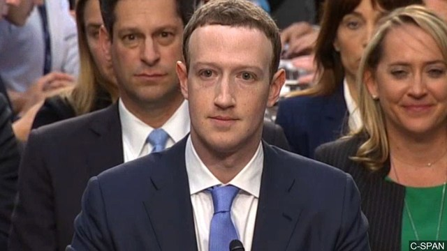 Mark Zuckerberg Continues Another Round of Testimony on Capitol Hill