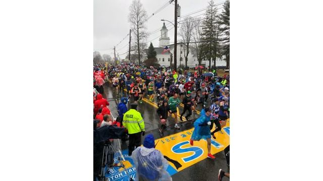 Springfield Woman Places in Top Ten of Gender, Division at Boston Marathon