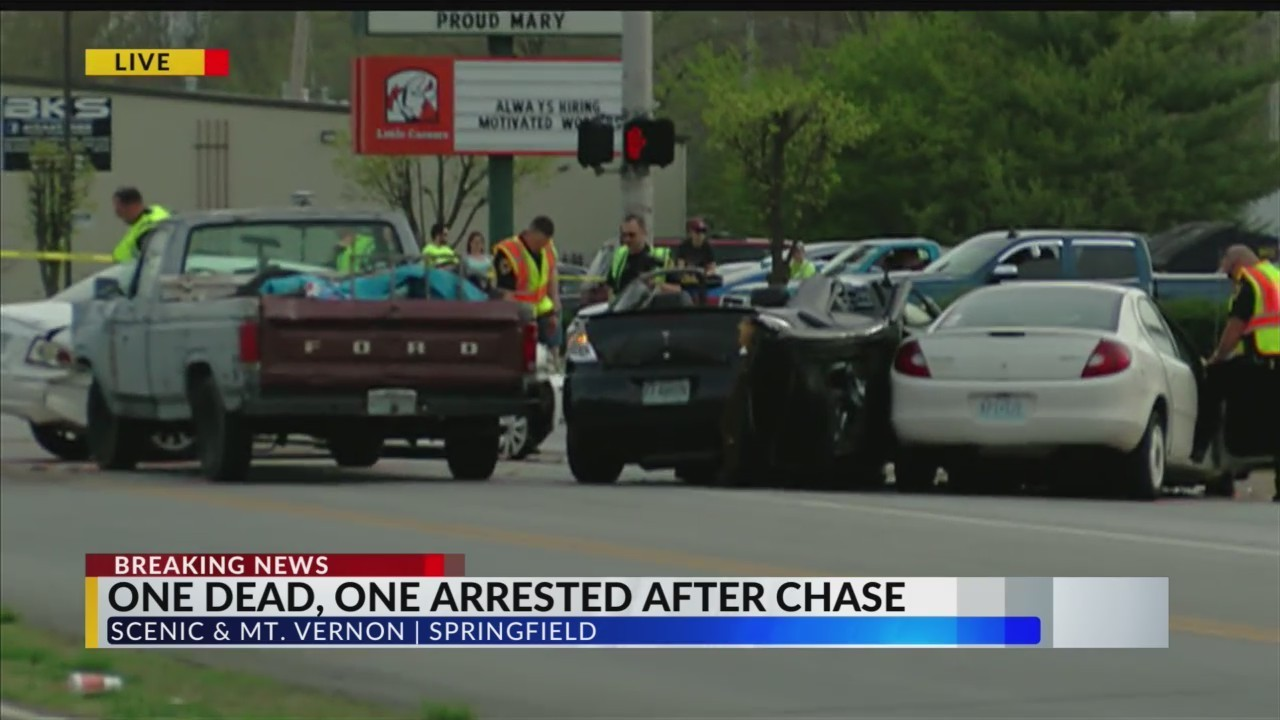 one killed, one arrested in multi-car crash