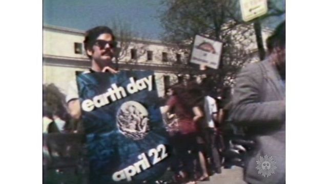 First Earth Day: April 22, 1970