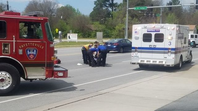 Cyclist Hit, Car Driver Takes off in Fayetteville