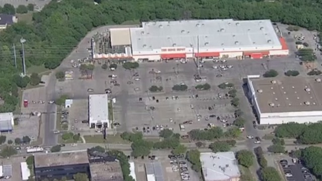 2 Officers Shot At Dallas Home Depot; Suspect In Custody After Chase