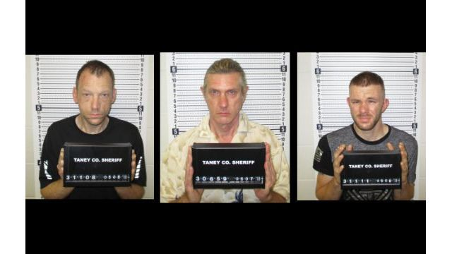 Branson Police Arrests Three, Recover Stolen Vehicles