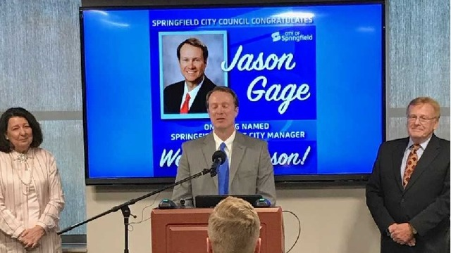 Jason Gage Announced as New Springfield City Manager