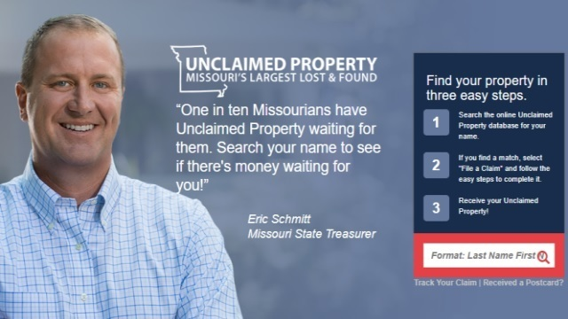 State Treasurer: 1 in 10 Missourians Have Unclaimed Property