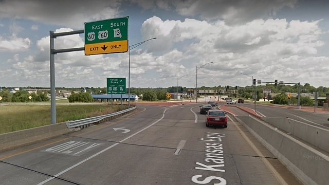 Traffic Alert: Kansas Expwy. at JFR Freeway Closing Monday