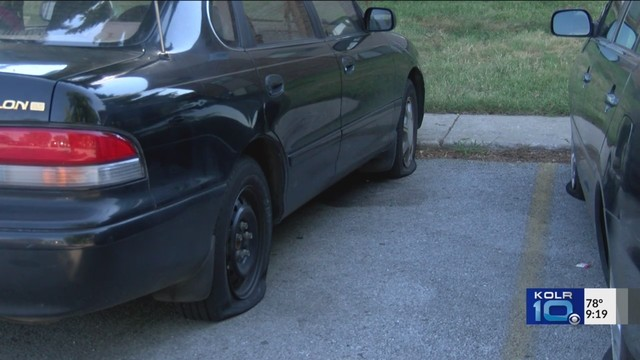 Several Tires Slashed In East Springfield Sunday Morning