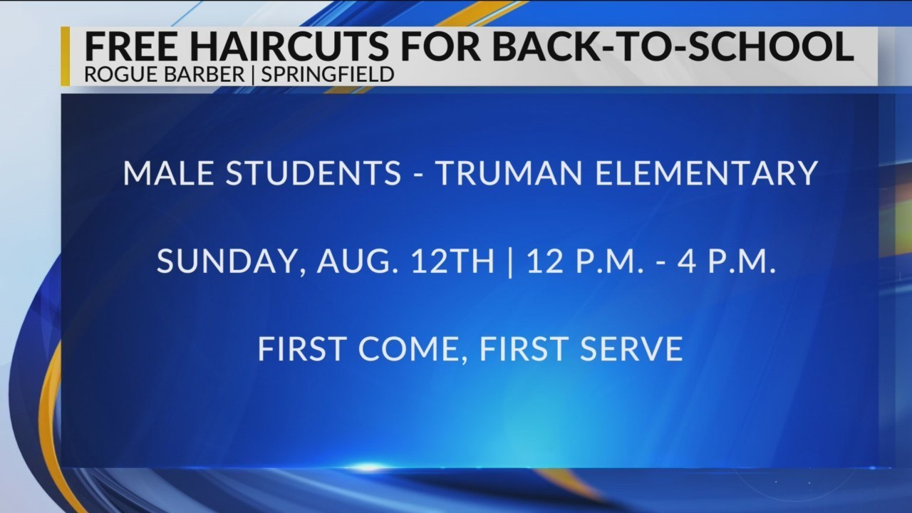 Barbershop Celebrating Back To School With Free Haircuts