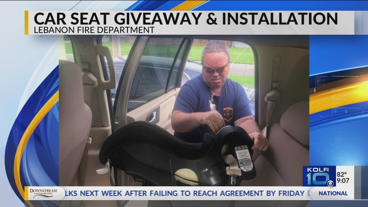 Lebanon Fire Department Gives Away Installs Car Seats For Free
